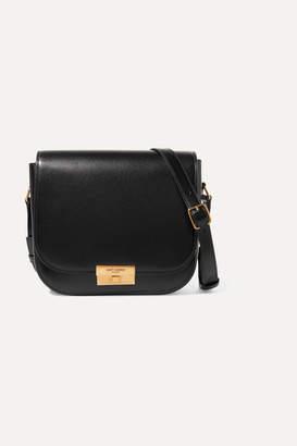 Saint Laurent Betty Leather Shoulder Bag - Black