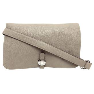 Hermes Leather clutch bag
