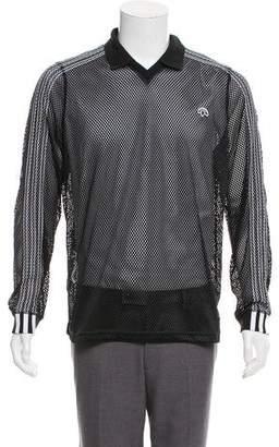 Alexander Wang x Adidas Mesh Long Sleeve Polo w/ Tags