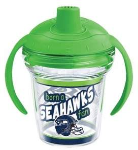 Tervis NFL Seattle Seahawks Born A Fan 6oz Sippy Cup with Lid