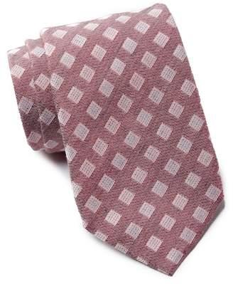 Vince Camuto Vespucci Neat Print Silk Tie
