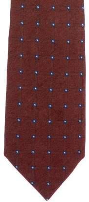 Hermes Wool & Silk Tie