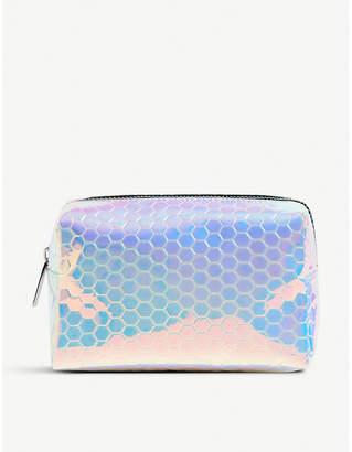 Skinnydip Honeycomb makeup bag