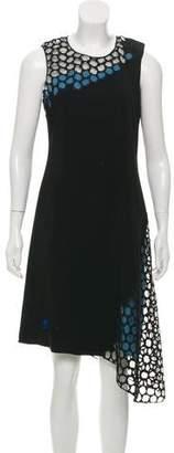 Reed Krakoff Asymmetric Midi Dress