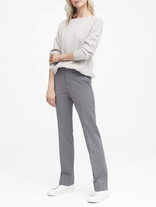 Banana Republic Logan Trouser-Fit Heathered Pant