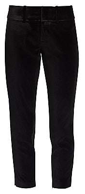 Alice + Olivia Women's Stacey Slim-Fit Crop Pants