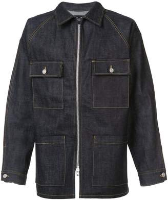 Fear Of God zipped denim jacket