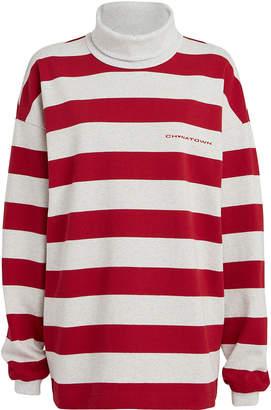 Alexander Wang Chynatown Striped Rugby T-Shirt
