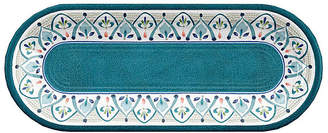 One Kings Lane Moroccan Melamine Serving Tray - Teal