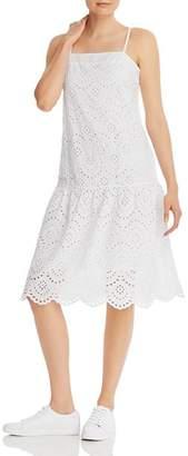 Nation Ltd. Rayna Drop-Waist Eyelet Dress