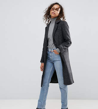 Asos Slim Coat in Wool Blend