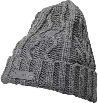 0dd8e2dd4e2 Kangaroo Poo Mens Cable Beanie Hat Mid Grey Marl