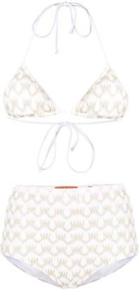 Missoni Mare striped triangle bikini top