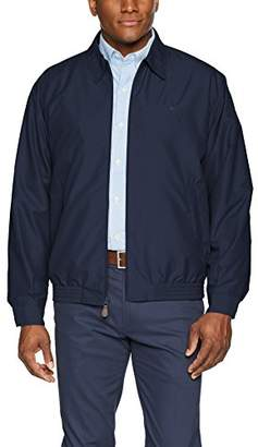 Chaps Men's Classic Fit Full-Zip Microfiber Jacket
