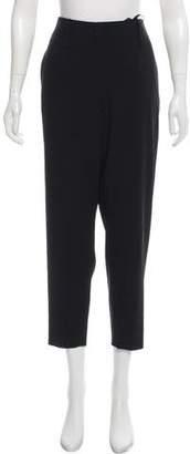 Giorgio Armani Cropped High-Rise Pants w/ Tags