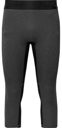 adidas Sport Alphaskin Cropped Mesh-Panelled Climacool Tights