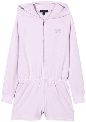 Juicy Couture Swarovski personalisable velour romper