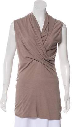 Rick Owens Lilies Sleeveless Knit Top