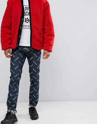 Love Moschino slim logo jeans