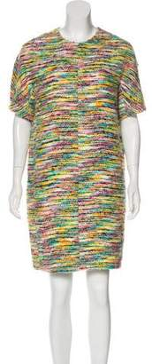 Chloé Bouclé Shift Mini Dress