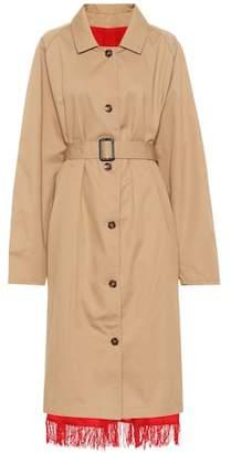 Vetements Reversible trench coat