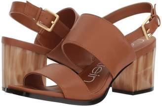 Calvin Klein Rosemary Block Heel Sandal High Heels