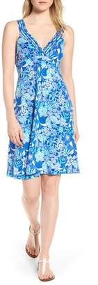 Tommy Bahama Boardwalk Blooms A-Line Dress