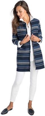 Vineyard Vines Striped Woven Jacket