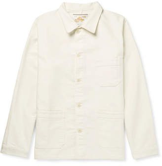 Le Mont Saint Michel Cotton-Moleskin Chore Jacket
