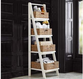 Pottery Barn Ainsley Ladder Floor Storage with Baskets