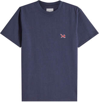 Calvin Klein Cotton T-Shirt with Embroidered Motif