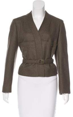 Christophe Lemaire Wool Belted Jacket