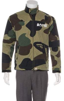 A Bathing Ape Camouflage Lightweight Jacket
