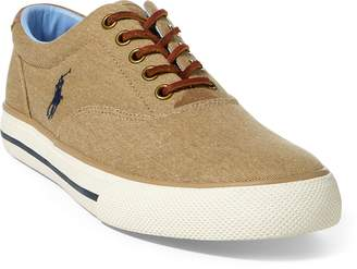 Ralph Lauren Vaughn Washed Twill Sneaker