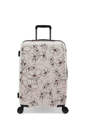 Radley Linear Flower Medium Four Wheel Case