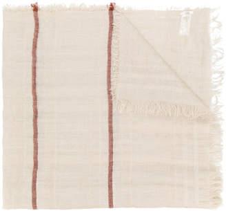 Peserico frayed edge scarf