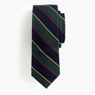 J.Crew Ludlow wool tie in tartan stripe