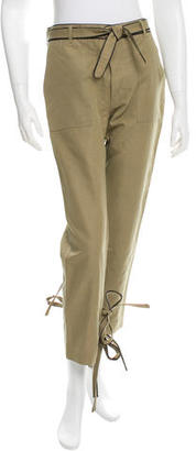 Boy. by Band of Outsiders Belted Straight-Leg Pants $85 thestylecure.com