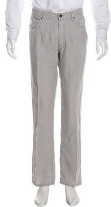 John Varvatos Five-Pocket Slim Jeans