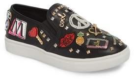 Steve Madden JCraze Embellished Slip-On Sneaker