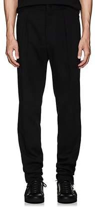 Fendi Men's Logo Cotton-Blend Track Pants - Black