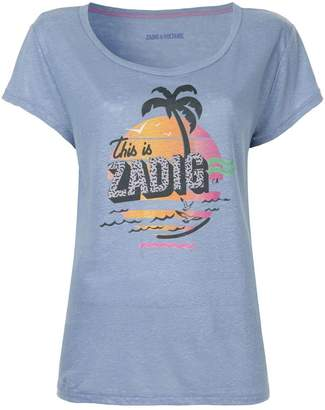 Zadig & Voltaire Zadig&Voltaire printed T-shirt