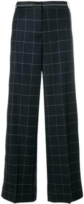 Elizabeth and James woven grid palazzo pants