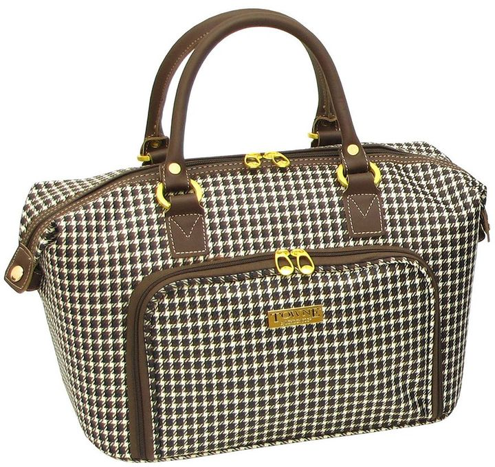London Fog Towne by 16-in. cosmetic case