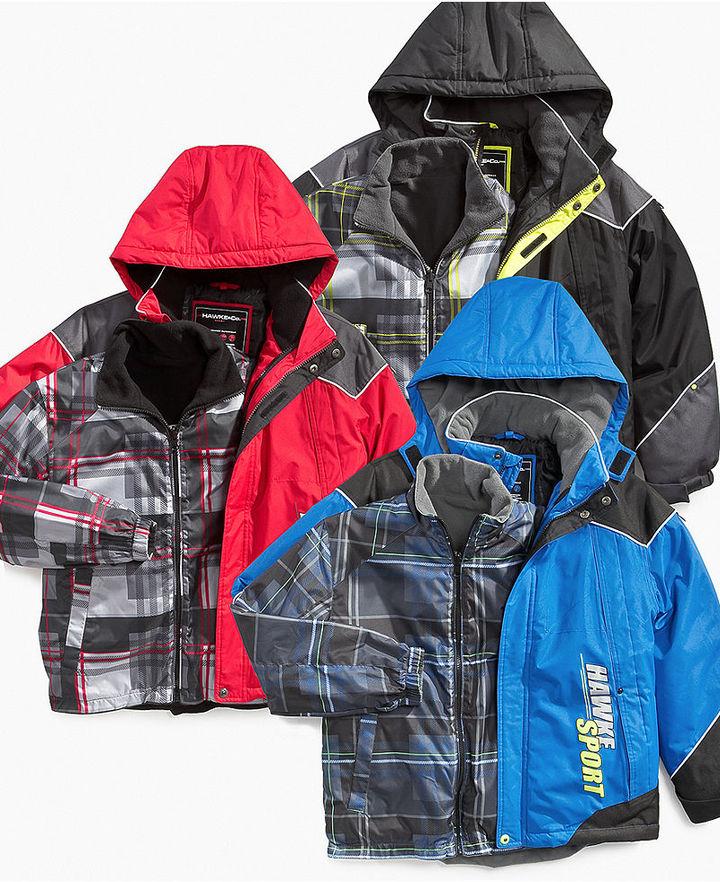 Hawke & Co Kids Jacket, Little Boys 4-in-1 Systems Jackets