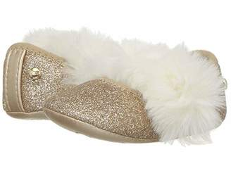 UGG Fluff Glitter Ballet Flat (Infant/Toddler)