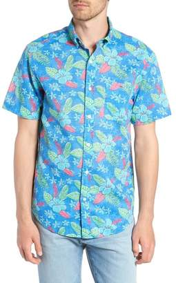 Vineyard Vines Cay Tucker Classic Fit Floral Sport Shirt