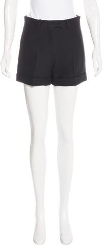 ValentinoValentino Mid-Rise Mini Shorts