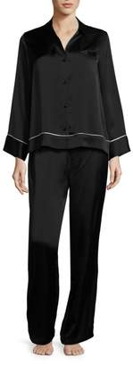 Natori Josie Key Essentials Silk Pajamas