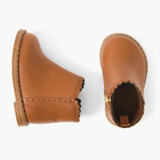 Gymboree Scalloped Booties